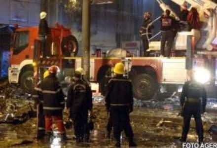 Incendiu la o hala de textile din Voluntari.11 masini de pompieri sunt acolo