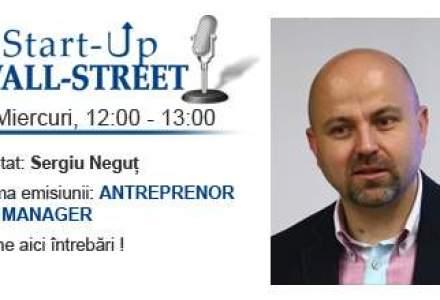 Antreprenor vs manager: o tema esentiala in lumea corporatista. Adreseaza-i intrebari lui Sergiu Negut