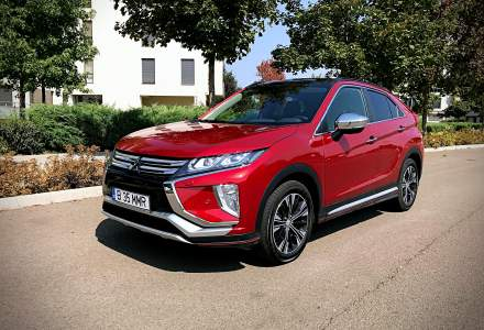 Test drive cu Mitsubishi Eclipse Cross, cel mai nou model al japonezilor