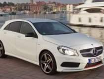 Test cu noul Mercedes-Benz...
