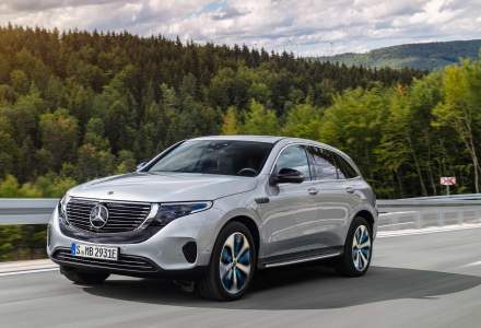 Mercedes-Benz EQC a fost prezentat oficial. SUV-ul este primul Mercedes 100% electric