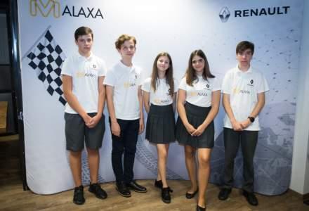 Cinci elevi reprezinta Romania la o competitie internationala de Formula 1 in scoli