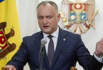 Presedintele R.Moldova, Igor Dodon, internat in spital dupa un accident de masina