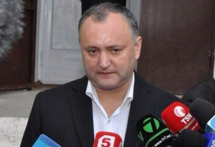 VIDEO Momentul producerii accidentului in care a fost implicat Igor Dodon. Presedintele R. Moldova si fiul sau au parasit spitalul