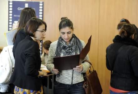 Bursa locurilor de munca pentru absolventi, in octombrie