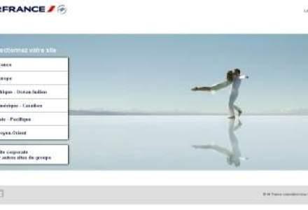 Air France si-a relansat site-ul