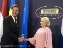 Reactia premierului olandez...