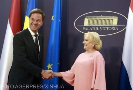 Reactia premierului olandez dupa ce Viorica Dancila i-a cerut sprijinul pentru aderarea Romaniei la Schengen