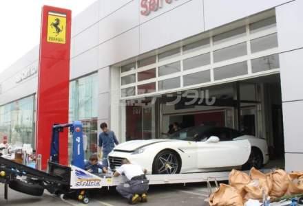 51 de Ferrari au fost distruse in Japonia de Taifunul Jebi. Pagubele se ridica la 9 miliarde de dolari