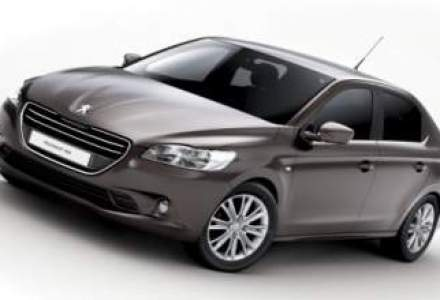 Dacia Logan are un rival din noiembrie. Peugeot lanseaza sedanul 301