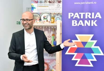 Patria Bank a lansat un proiect inedit de CSR: producatorii din platforma Mall Taranesc isi expun bunatatile in cateva sucursale ale bancii