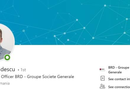 BRD SocGen creeaza functia de Chief Digital Officer si il recruteaza pe Florin Boldescu de pe o pozitie similara in cadrul Raiffeisen Bank
