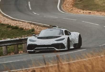 Mercedes testeaza sub camuflaj primele prototipuri Project One