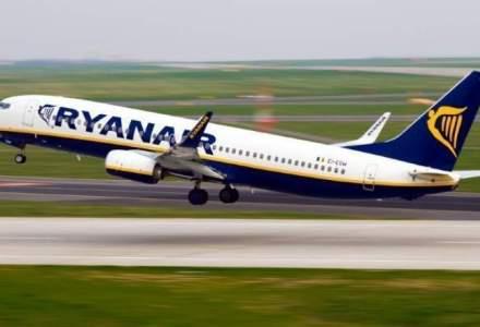 190 de zboruri Ryanair, anulate. 30.000 de pasageri, afectati