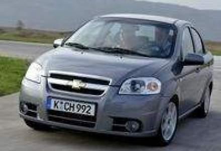 Aveo, primul model construit de Chevrolet in UE