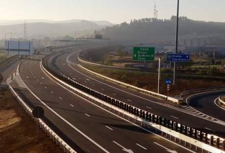 CNAIR a deschis circulatia pe inca 9,6 kilometri de autostrada [VIDEO]