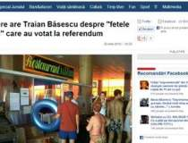 Ce parere are Traian Basescu...