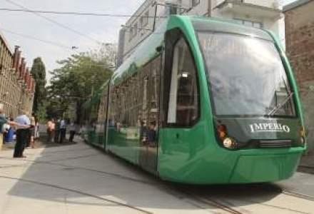 Cum arata tramvaiul de 2 mil. euro produs la Arad
