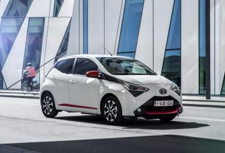 Toyota lanseaza Aygo facelift pe piata din Romania