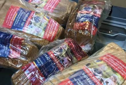 """Ce companie vinde """"paine cu propaganda pentru referendum"""""""