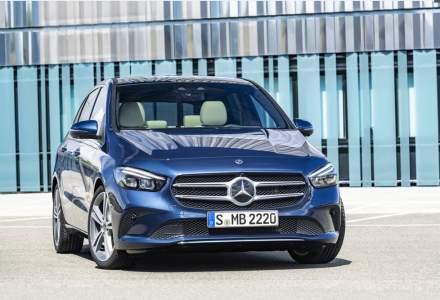 Foto: Primele exemplare Mercedes-Benz Clasa B vor ajunge pe strazi in februarie