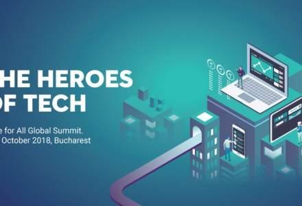 Heroes of Tech, primul summit global de civic tech din lume, va fi organizat la Bucuresti