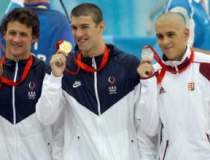 Americanul Michael Phelps a...
