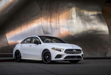 Mercedes-Benz lanseaza noua Clasa A sedan la inceputul anului 2019
