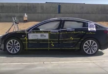 Tesla face istorie in America: Model 3 depaseste criteriile de siguranta stabilite pentru 5 stele