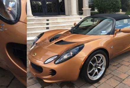 Un Lotus Elise a fost declarat dauna totala din cauza unei zgarieturi