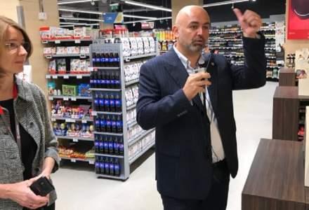 Cum arata primul smart supermarket Mega Image din Romania