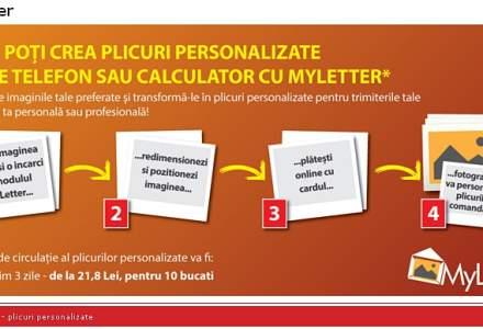 Posta Romana lanseaza MyLetter, personalizare a plicurilor