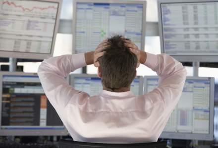 Bursele au gasit motiv pentru o noua serie de scaderi masive: dobanda titlurilor de stat americane