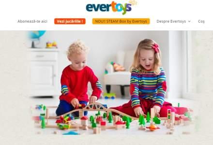 """Evertoys, startup-ul care livreaza copiilor """"cadoul care nu se termina"""" si vrea sa schimbe mentalitatea parintilor cu privire la imprumutul de jucarii"""