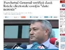 Parchetul General verifica...