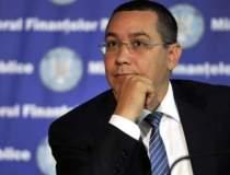 Victor Ponta critica Guvernul...