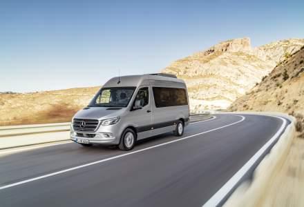 Mercedes-Benz a anuntat preturile noului Sprinter in Romania