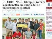 DISCRIMINARE: Olimpicii...