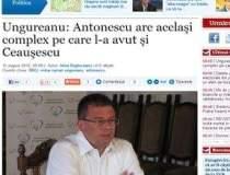 Ungureanu: Antonescu are...
