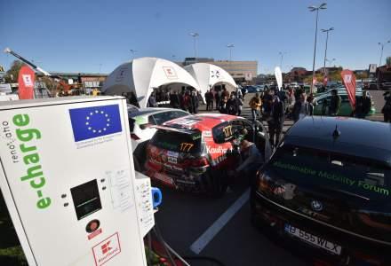 Primul hub de incarcare rapida pentru masini electrice a fost deschis in Bucuresti