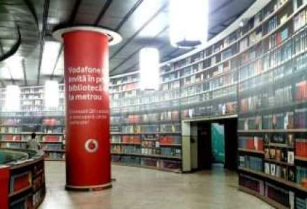 Vodafone lanseaza impreuna cu Humanitas o biblioteca digitala in Piata Victoriei