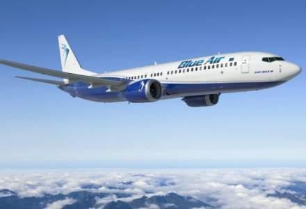 FOTO Un avion Blue Air care zbura pe ruta Cluj-Dublin a aterizat de urgenta