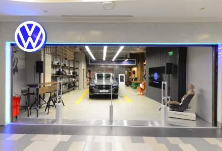 Volkswagen deschide in Romania primul showroom auto dintr-un mall