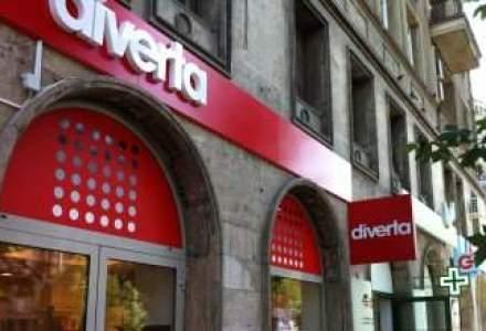 An greu pentru Diverta: afacerile ar putea scadea la 14 mil. euro