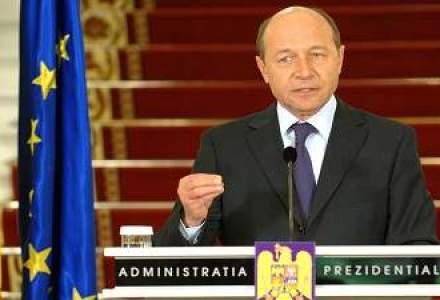Traian Basescu a revenit la Cotroceni