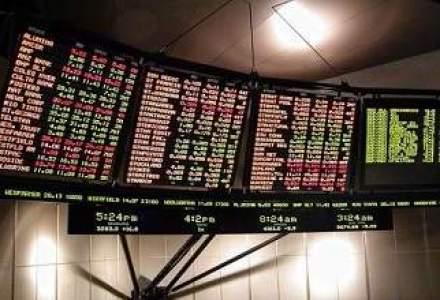 Bursa a scazut usor, pe un rulaj salvat de FP, OMV Petrom si Banca Trasilvania
