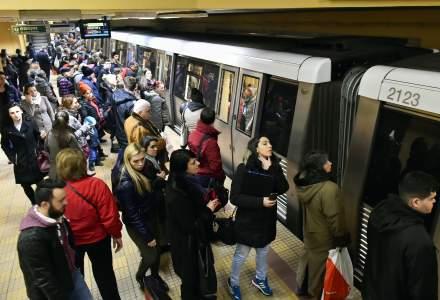 Sindicalistii de la metrou intra in greva generala, pe termen nedeterminat, incepand de miercuri