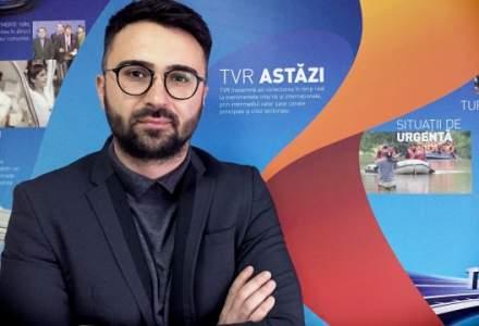 Realizatorul Ionut Cristache, salariu de peste 25.000 de lei pe luna la TVR. Fostul director al institutiei avea 14.000