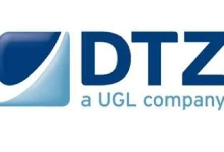 Rebranding la DTZ: compania trece de la rosu, la albastru