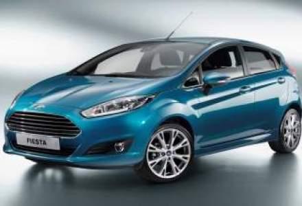 Ford Fiesta a primit un facelift si motorul de 1 litru EcoBoost